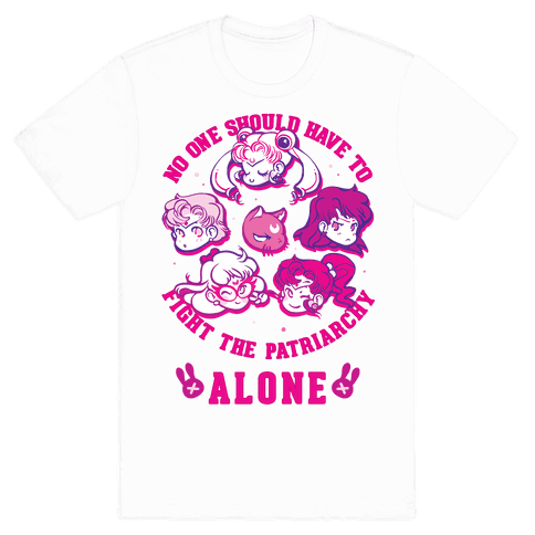 No One Should Have To Fight The Patriarchy Alone Mens T-Shirt