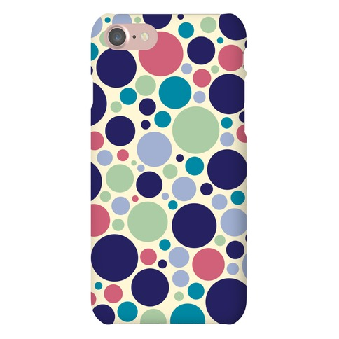 Circle Pattern Case (Yellow) Phone Case