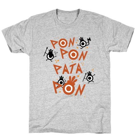 Pon Pon Pata Pon Mens T-Shirt