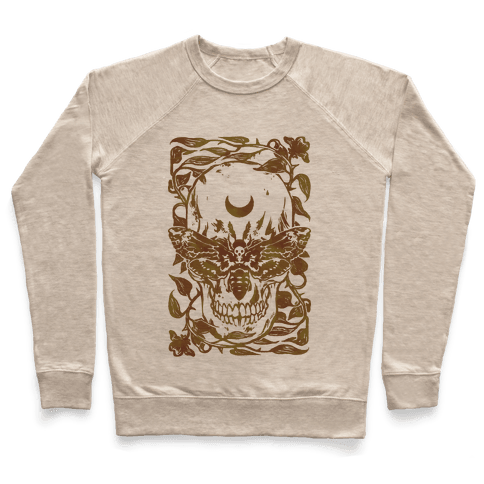 Skull Moth Pullover
