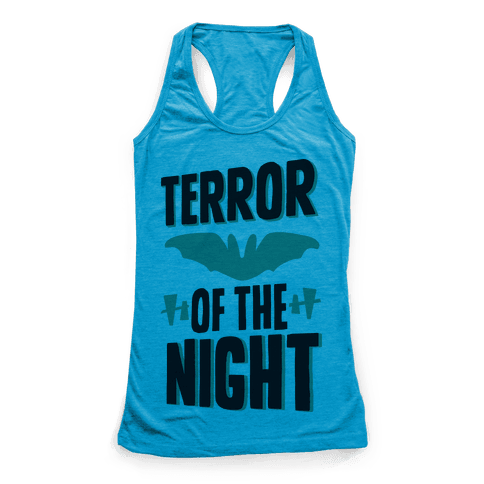 Terror Of The Night Racerback Tank Top