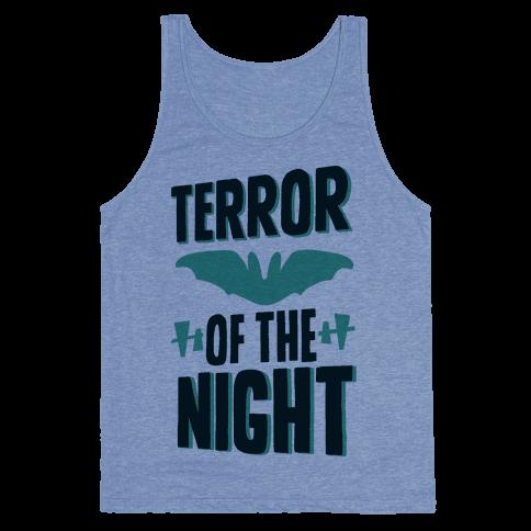 Terror Of The Night Tank Top
