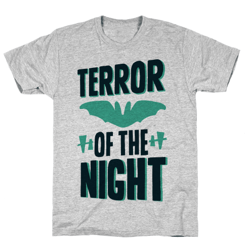Terror Of The Night Mens T-Shirt