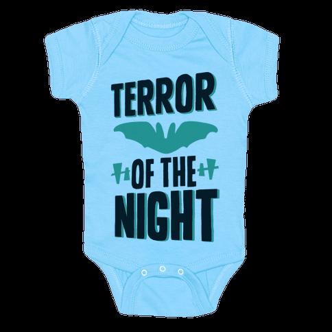 Terror Of The Night Baby Onesy