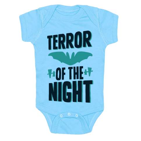 Terror Of The Night Baby Onesy