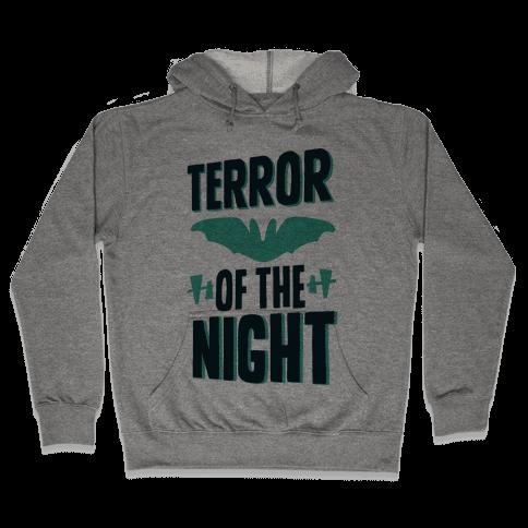 Terror Of The Night Hooded Sweatshirt