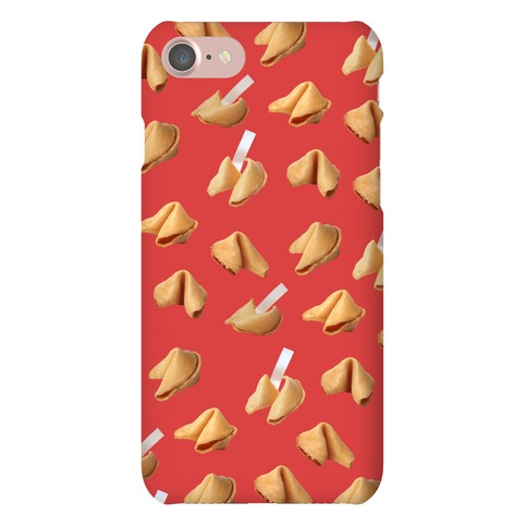 Fortune Cookie Case (Red) Phone Case