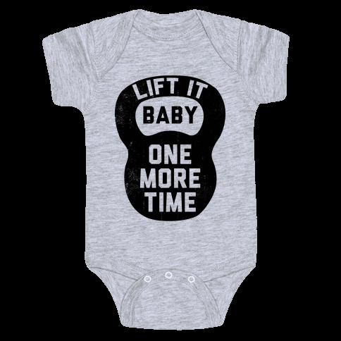 Lift It Baby Baby Onesy