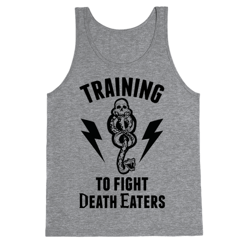 Training To Fight Death Eaters Tank Top