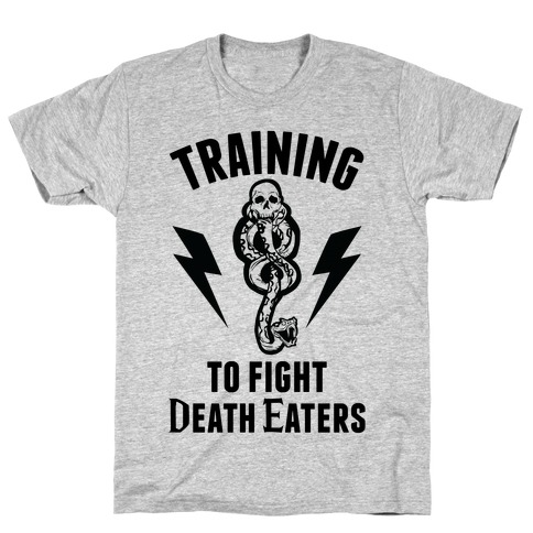 Training To Fight Death Eaters T-Shirt