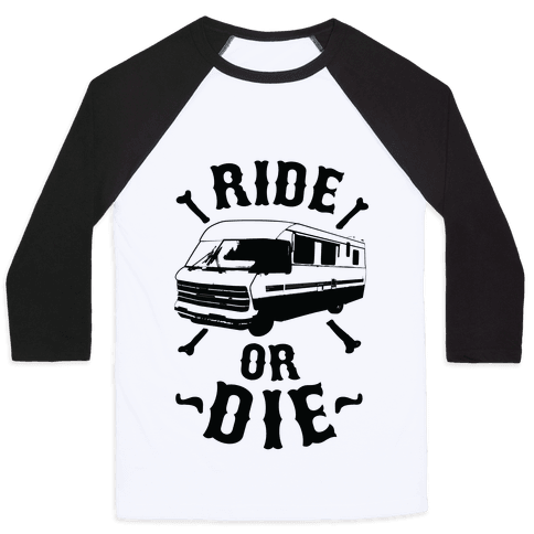 RV Ride Or Die Baseball Tee