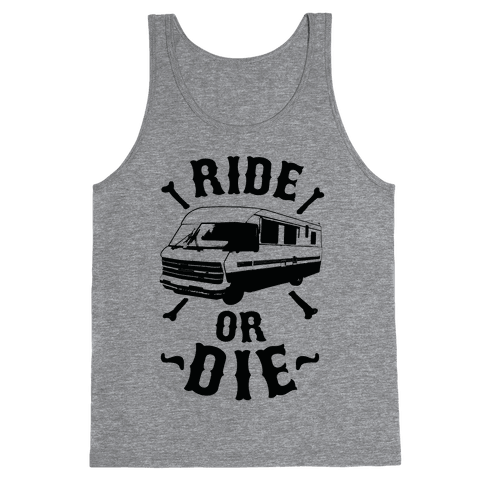 RV Ride Or Die Tank Top