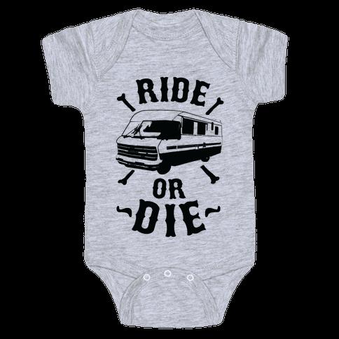 RV Ride Or Die Baby Onesy