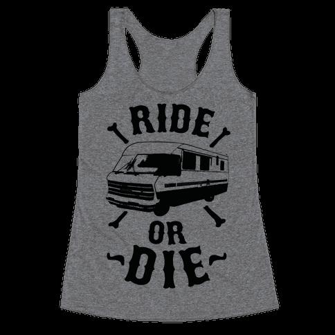 RV Ride Or Die Racerback Tank Top