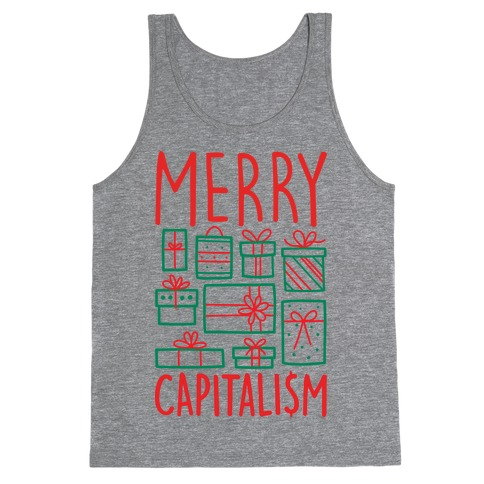 Merry Capitalism Tank Top