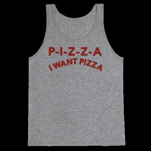 OLSEN PIZZA Tank Top