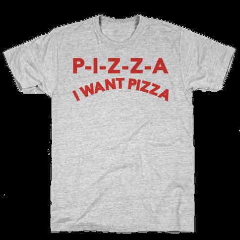 OLSEN PIZZA Mens T-Shirt