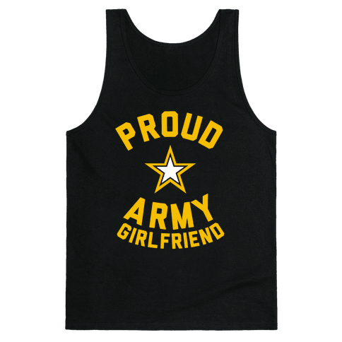 Proud Army Girlfriend Tank Top