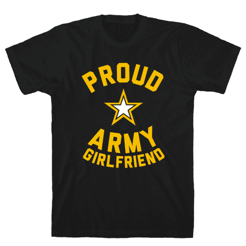 Proud Army Girlfriend Mens T-Shirt
