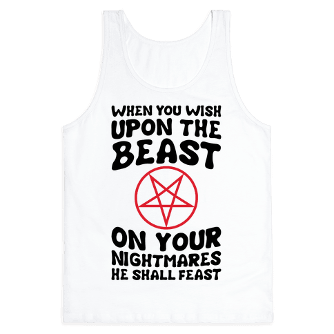 When You Wish Upon The Beast Tank Top
