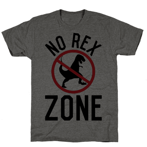 No Rex Zone Mens T-Shirt