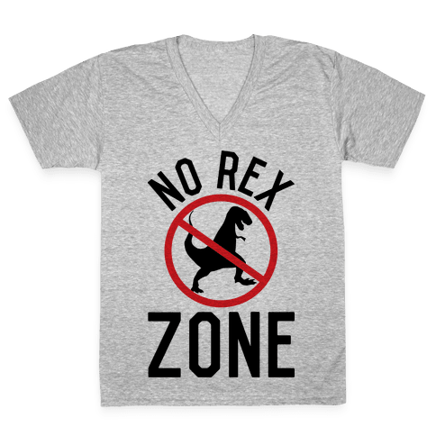 No Rex Zone V-Neck Tee Shirt