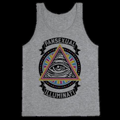Pansexual Illuminati Tank Top