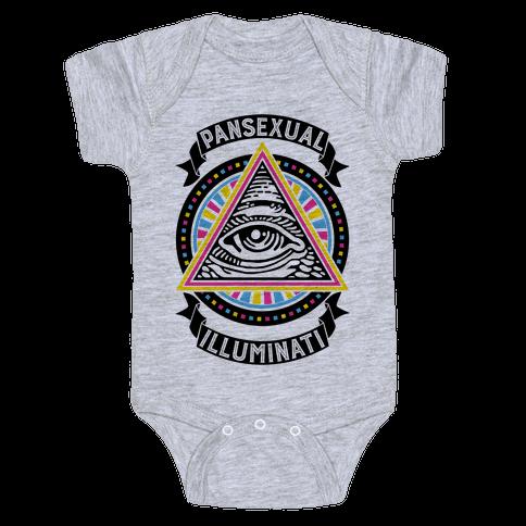 Pansexual Illuminati Baby Onesy