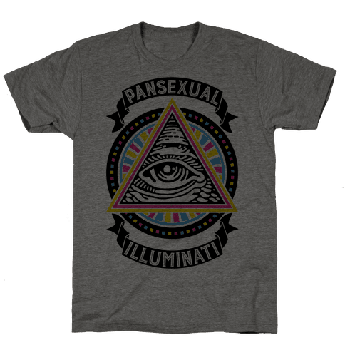 Pansexual Illuminati Mens T-Shirt