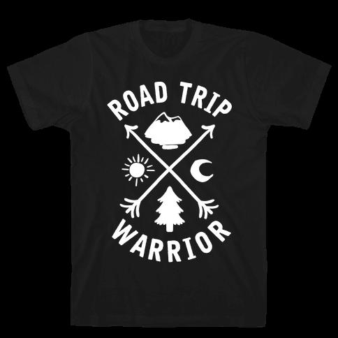 Road Trip Warrior Mens T-Shirt