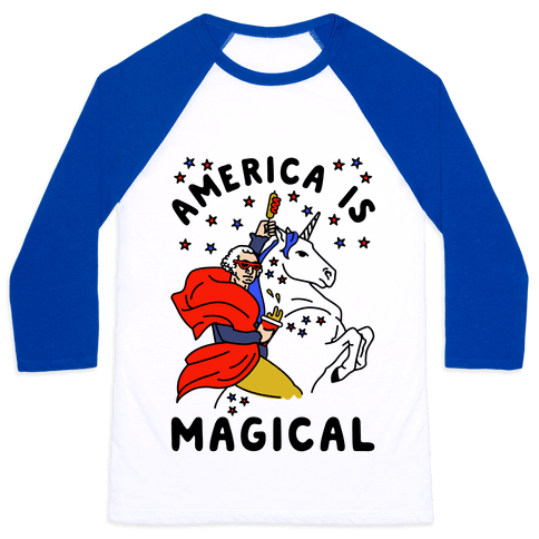 America Is Magical Baseball Tee