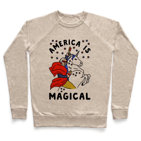 America Is Magical Pullover