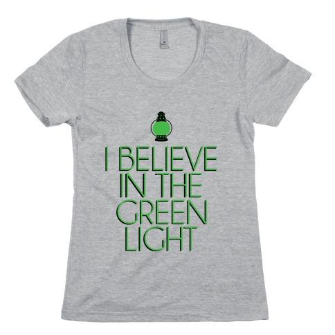 Green Light Womens T-Shirt
