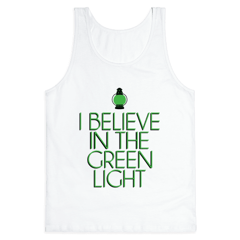 Green Light Tank Top