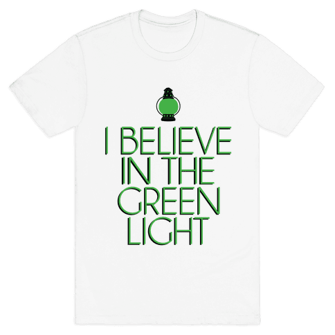 Green Light Mens T-Shirt