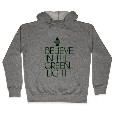Green Light Hooded Sweatshirt