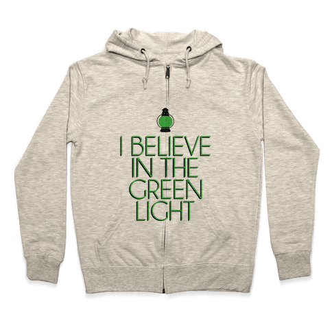 Green Light Zip Hoodie