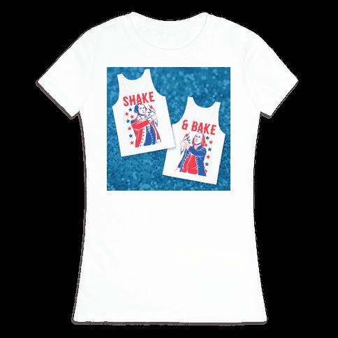Shake & Bake: George Washington Womens T-Shirt