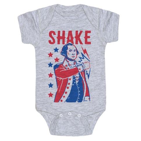 2fcc67dcb Shake & Bake: George Washington Baby Onesy