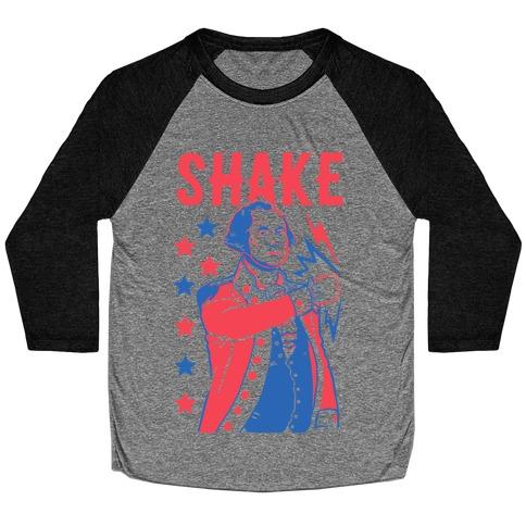 Shake & Bake: George Washington Baseball Tee