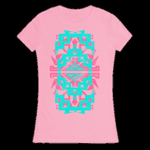Aztec Love (Tank) Womens T-Shirt