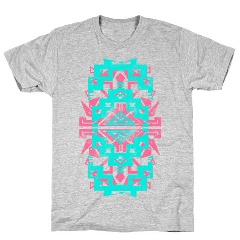 Aztec Love (Tank) Mens T-Shirt