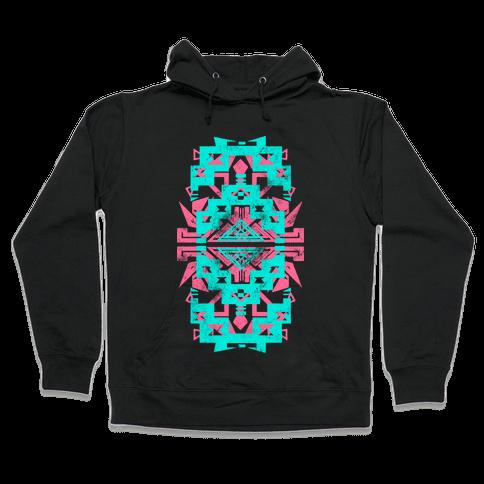 Aztec Love (Tank) Hooded Sweatshirt