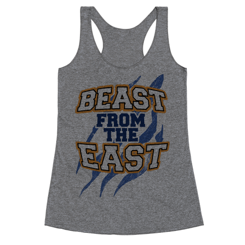 Beast from the East Racerback Tank Top