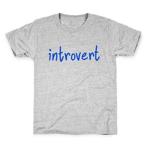 Introvert Kids T-Shirt
