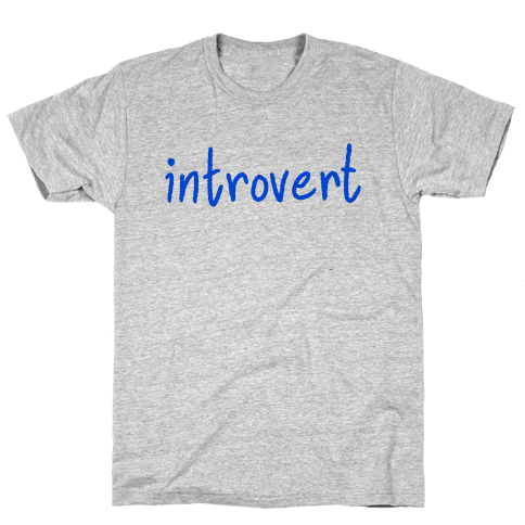 Introvert Mens T-Shirt