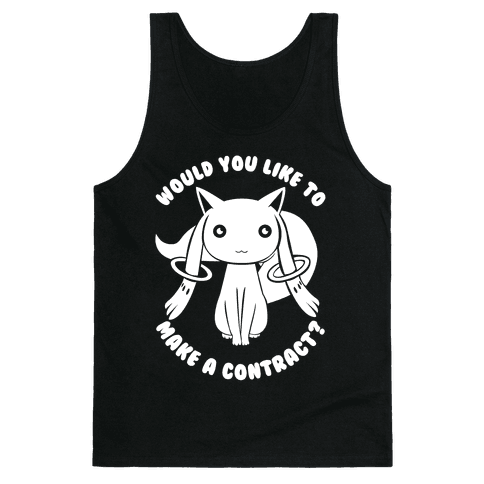 Would You Like To Make A Contract? Tank Top