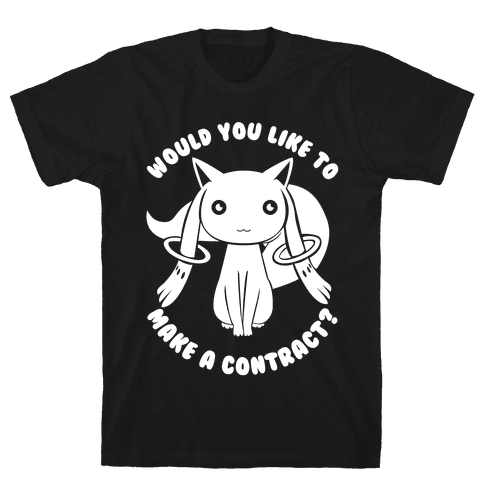 Would You Like To Make A Contract? Mens T-Shirt
