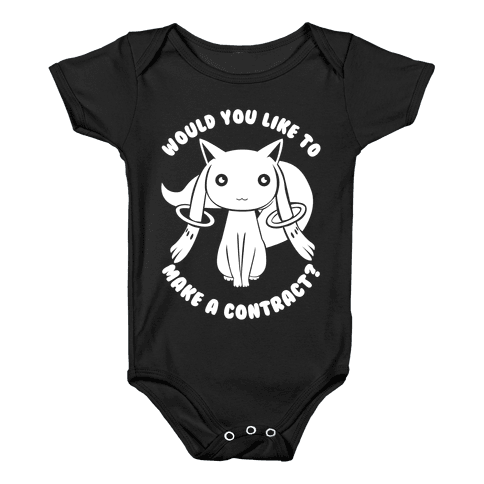 Would You Like To Make A Contract? Baby Onesy