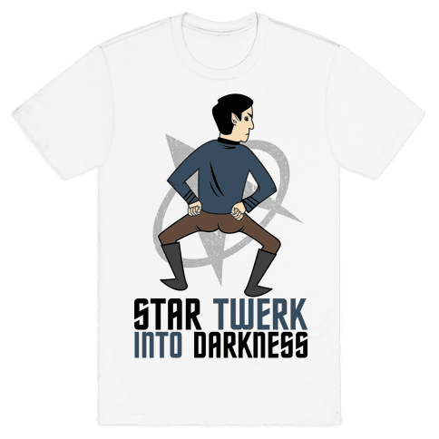 Star Twerk Mens T-Shirt